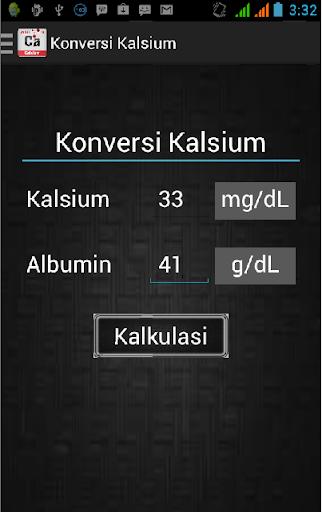 Konversi Kalsium Albumin