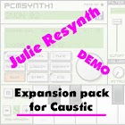 Julie Resynth demo for Caustic icon