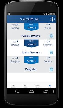 Sarajevo Flights Info