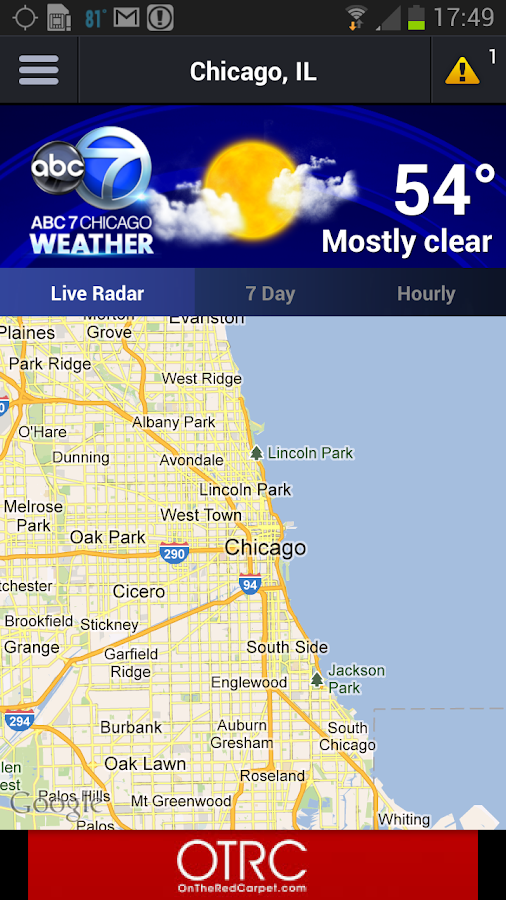 ABC7 Chicago Weather - screenshot