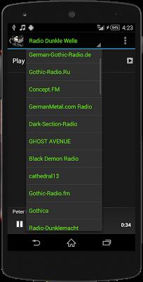 Gothic MUSIC RADIO - screenshot