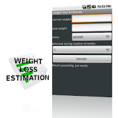 Weight Goal Estimation