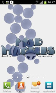 Mad Marbles Lite LWP- screenshot thumbnail