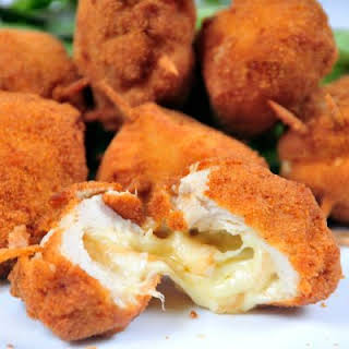 Deep-Fried Cheese Puffs.