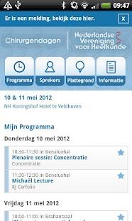 NVvH Chirurgendagen 2012- screenshot thumbnail