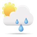 Speaking weather icon