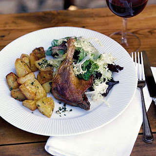Barney's Confit of duck