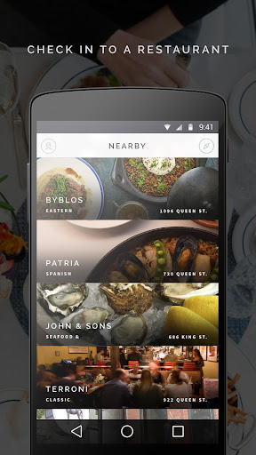 Tab: Payments for Dining