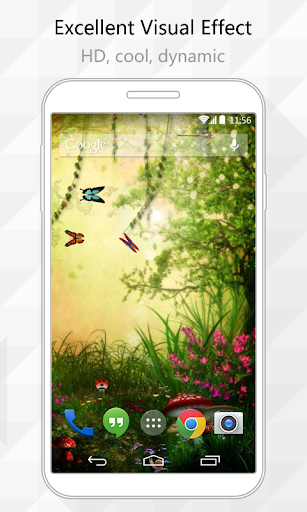 Insect Paradise Live Wallpaper