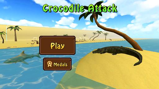 Crocodile Attack 3D Pro