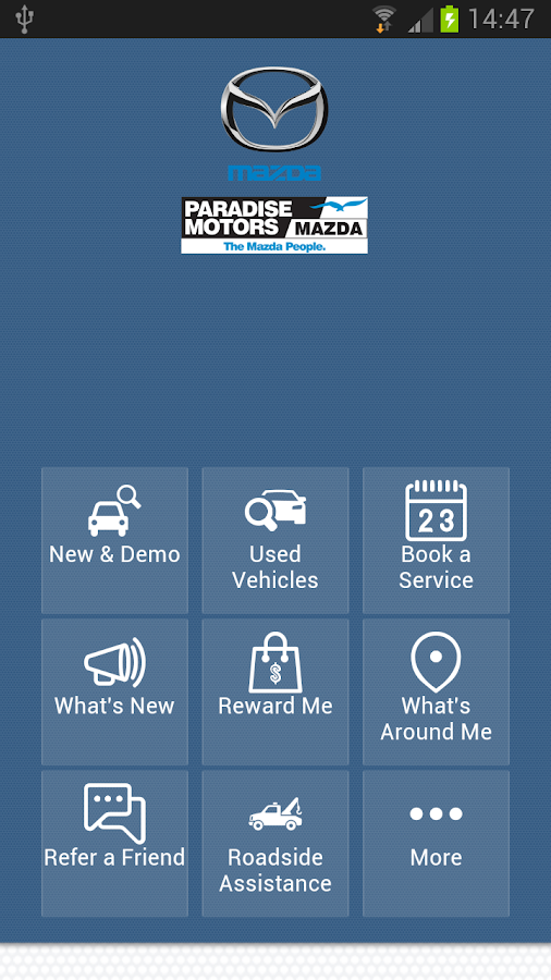 Paradise Motors Mazda- screenshot