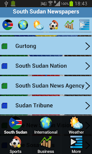 South Sudan Newspapers - screenshot thumbnail