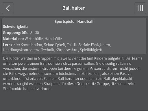 【免費教育App】LSV Sport und Spiel-APP點子