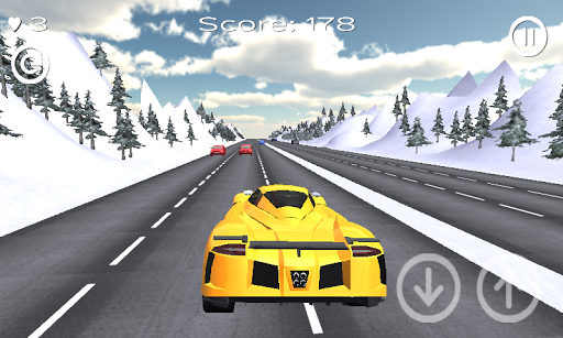 Extreme Winter Traffic Racer
