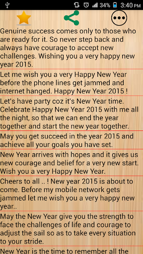 New Year Share