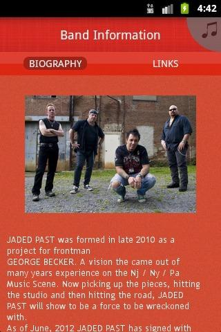 JADED PAST - screenshot