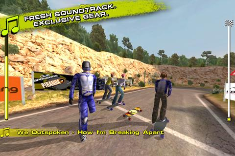 Downhill Xtreme- screenshot