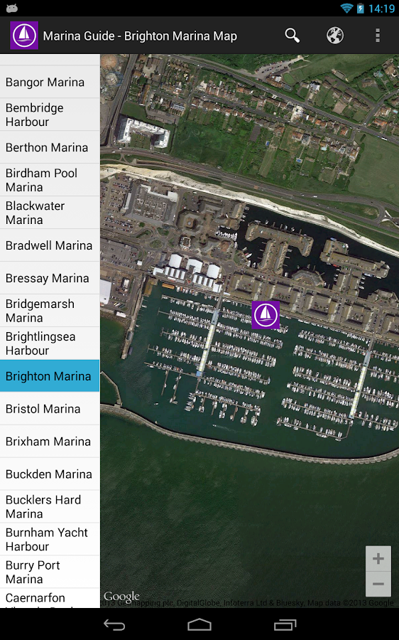 Marina Guide - screenshot