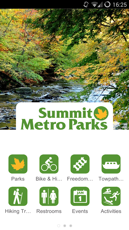 Summit Metro Parks- screenshot