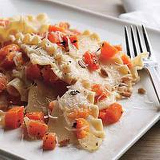 Pasta with Squash, Brown Butter and Rosemary