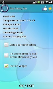 Blue Battery Disc - screenshot thumbnail