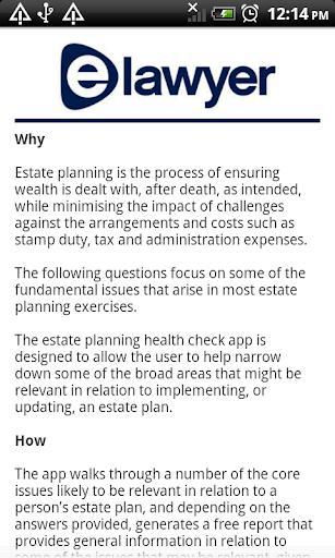 elawyer Estate Planning
