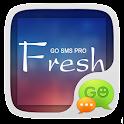 GO SMS Pro Fresh Theme EX