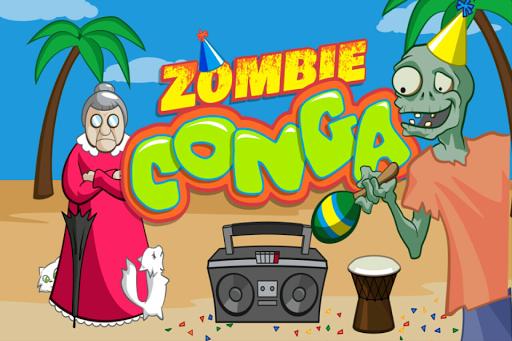 Zombie Conga Beach Party