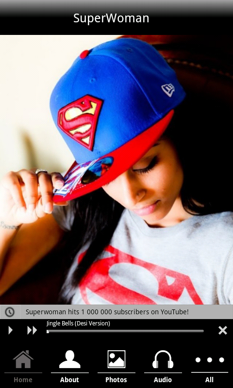 Superwoman - screenshot