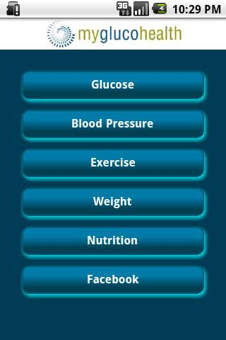 MyGlucoHealth- screenshot