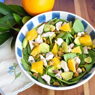 Chicken Spinach Salad with Citrus Vinaigrette Recipe