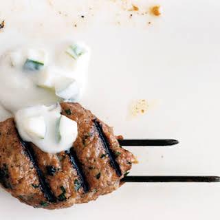 Grilled Lamb Meatballs.
