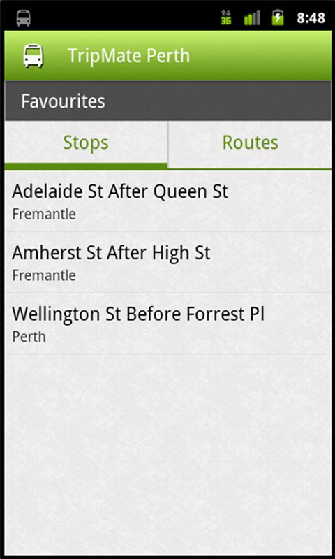 TripMate Perth - screenshot