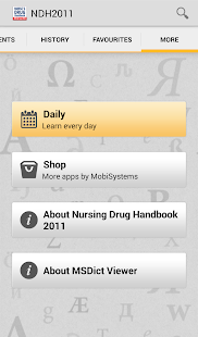 Nurse's Drug Handbook TR - screenshot thumbnail