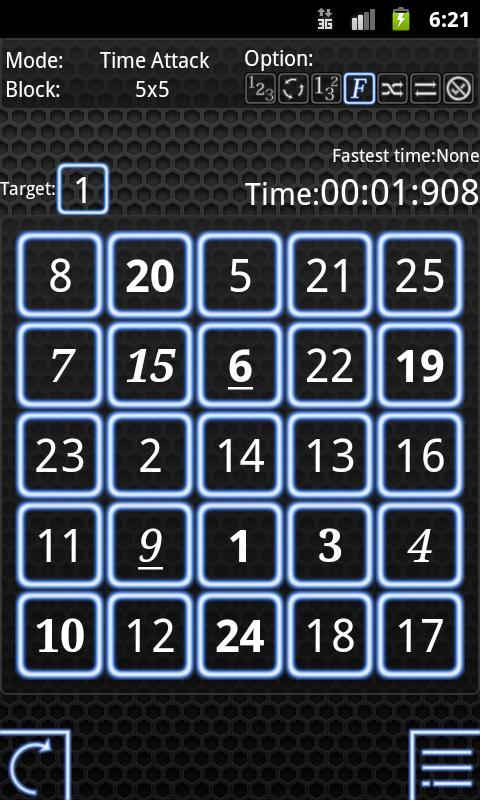 Numbers Attack!- screenshot