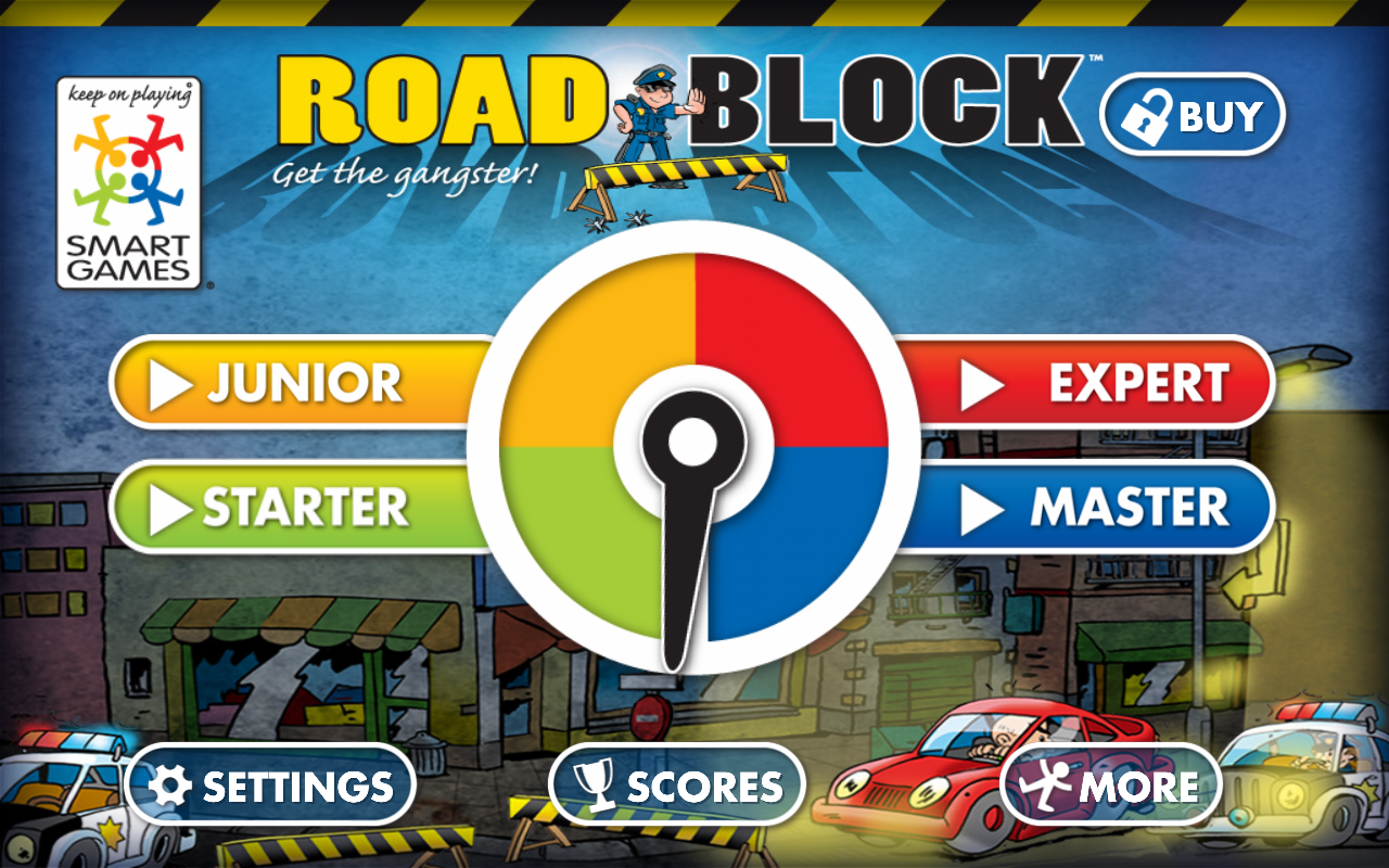 Roadblock by SmartGames- screenshot