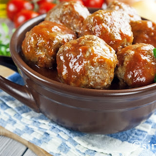Perfectly Simple Party Meatballs