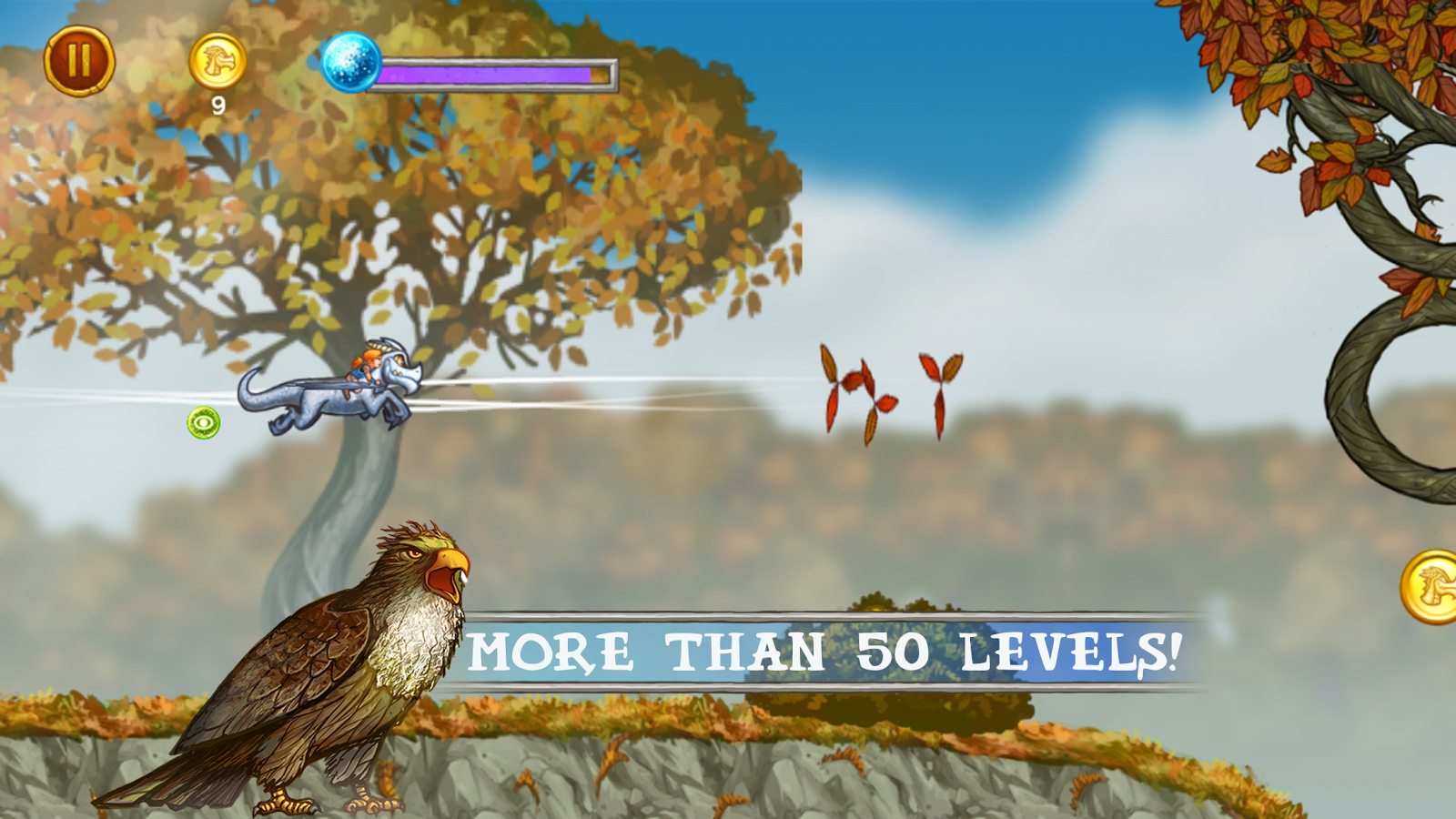 Flight of the Creatures- screenshot