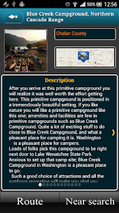 Washington Campgrounds- screenshot thumbnail