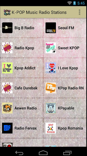 K-POP Music Radio Stations
