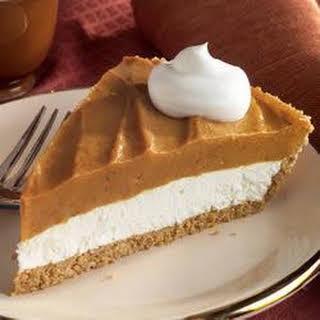 Double-Layer Pumpkin Pie.