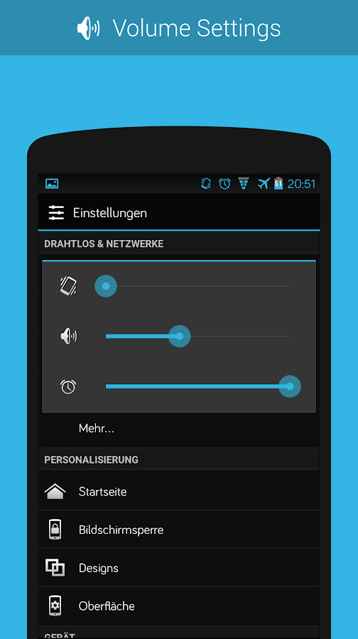 CM11/PA Theme - BlueStock- screenshot
