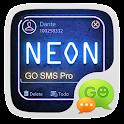 NEON THEME GO SMS PRO  EX icon