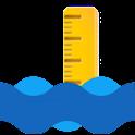 Stavy a průtoky vodních toků icon