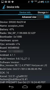 Device Information - screenshot thumbnail