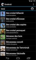 Screenshot of Ornidroid
