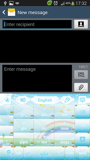 娛樂必備免費app推薦|GO输入法可爱的彩虹線上免付費app下載|3C達人阿輝的APP
