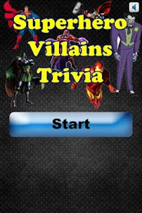 Superhero Villain Trivia - screenshot thumbnail