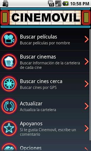 Cine Movil: Cartelera en Perú