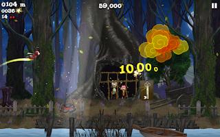 Screenshot of Firefly Runner